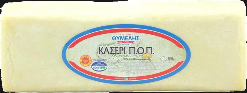 Κασέρι Μυτιλήνης Π.Ο.Π Συσκευασία 3 κιλών - Ημίσκληρο Τυρί - Τυροκομικά Θυμέλης Λέσβος